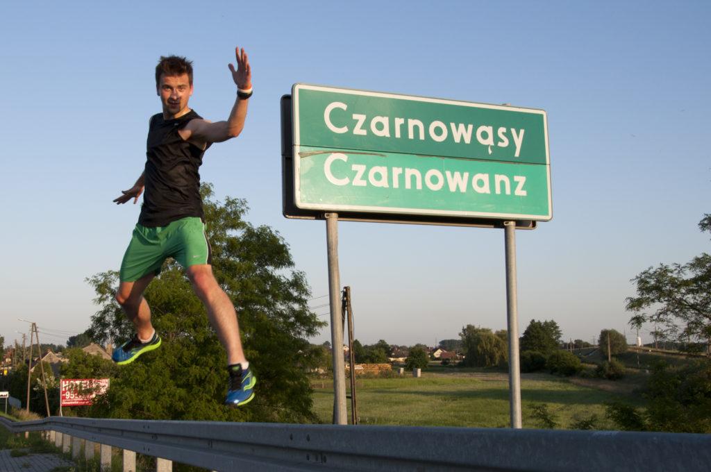 Laufen in Polen
