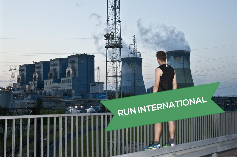 Laufen kann man überall. Auch in Polen