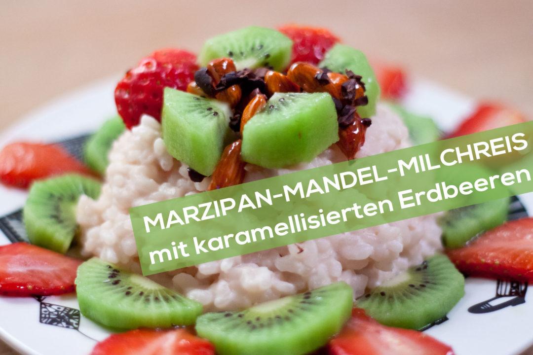 Marzipan-Mandel-Milchreis