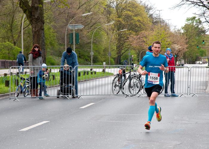 42,195 Kilometer gilt es beim Haspa Marathon Hamburg zu bezwingen