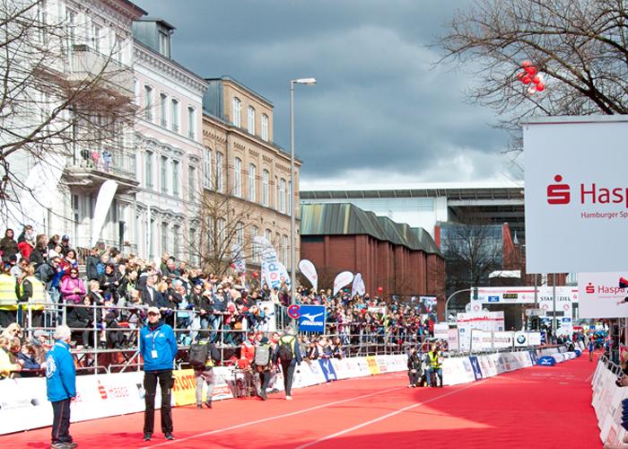 Das ist das Ziel des Haspa Marathon Hamburg