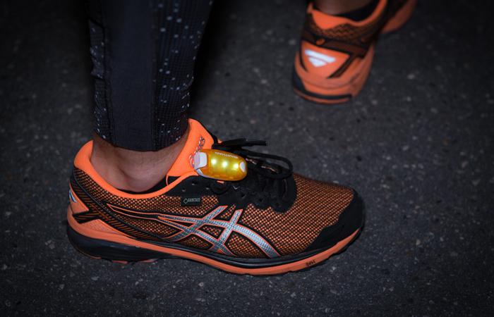 Ausrüstung für Laufen im Dunkeln