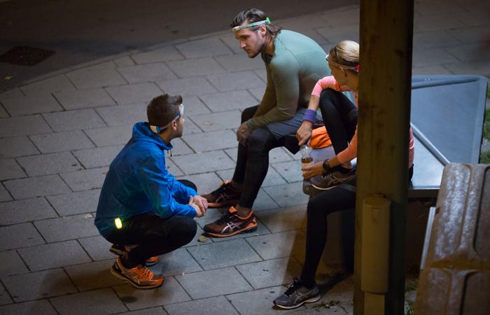 Licht-Clips für Läufer zur Besserung Sichtbarkeit von der Marke NATHAT