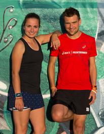 ASICS Frontrunner Susann Lehmann und Dennis Soisch
