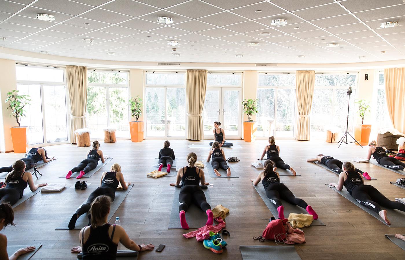 Yoga als aktive Regeneration nach einer körperlichen Belastung