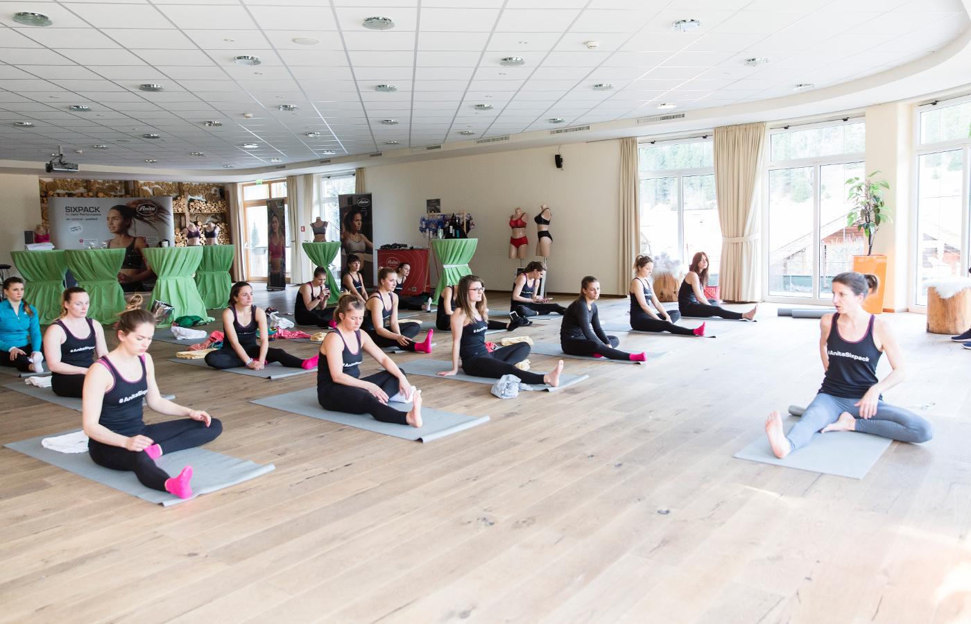 Entspannen mit Yoga