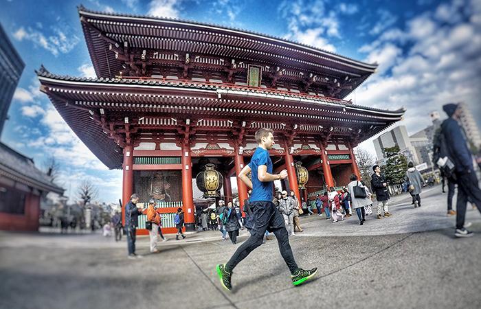 Asakusa ist eine beliebte Touristenecke