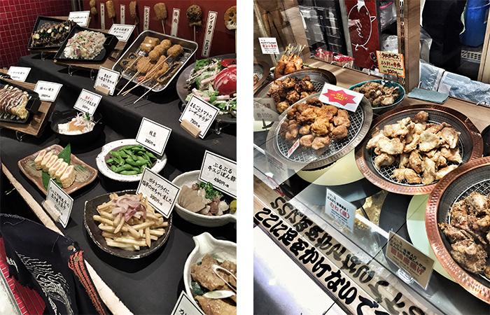In Japan wird das Essen als Plastik-Attrappe dargestellt