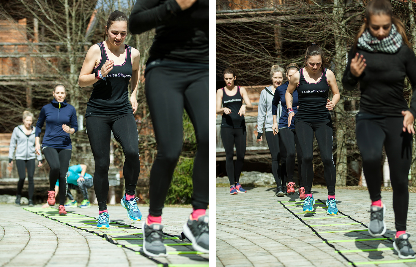Übungen mit der Koordinationsleiter sind vor allem für Läufer eine sehr gute Alternative