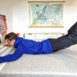 Eine Matratze, die sich an jede Körperform und jedes Körpergewicht anpasst