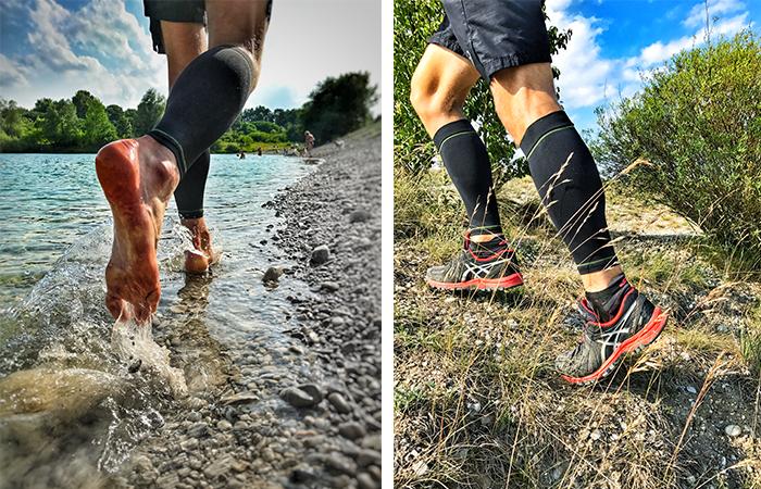 Laufen auf verschiedenen Untergründen sorgt für eine bessere Lauftechnik und Laufhaltung