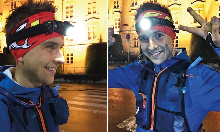 Stirnlampen von LedLenser eignen sich sehr gut für einen Traillauf