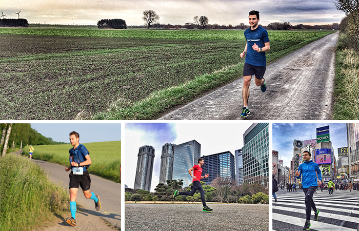Joggen hält fit und gesund. Die Strecke kann dabei variieren, damit es nicht eintönig wird. Laufen soll Spaß machen. Man kann überall joggen.