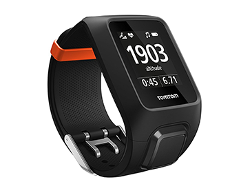 Laufuhr fürs Joggen, GPS-Uhr für Laufen, TomTom Runner 3, TomTom Adventure