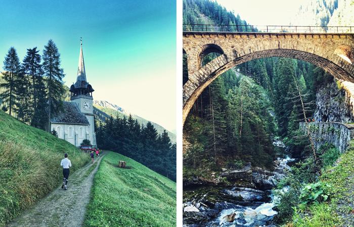 Kirche, Viadukt, Schweiz