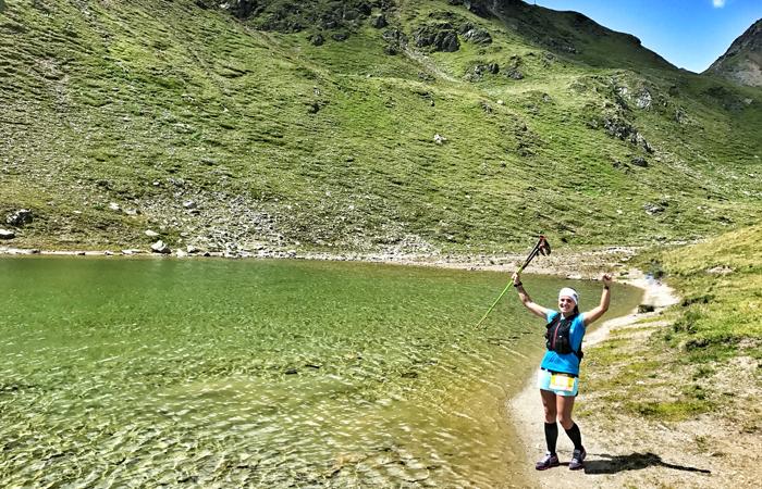 See auf der Route vom Swissalpine D22