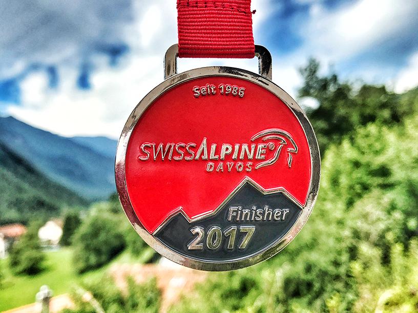 Medaille Siwssalpine in der Schweiz