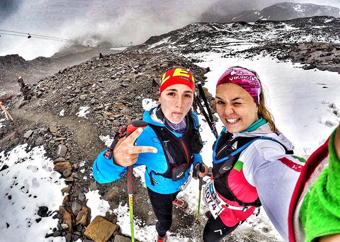 Jahresrückblick 2017: 28 km von Neustift auf den Stubai Gletscher, beim Stubai Ultratrail mit Isabel Groß von Run Munich Run