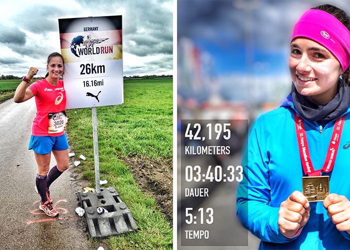 Wings For Life World Run und Hamburg Marathon 2017