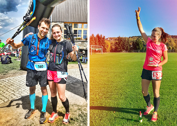 Finisher-Fotos beim Trailrunning