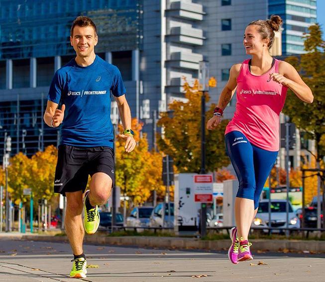 ASICS FrontRunner Treffen beim Frankfurt Marathon