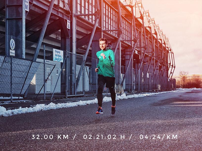 dein erster Marathon, Marathon laufen