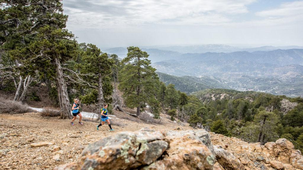 Zypern Trailrunning mit Asics.