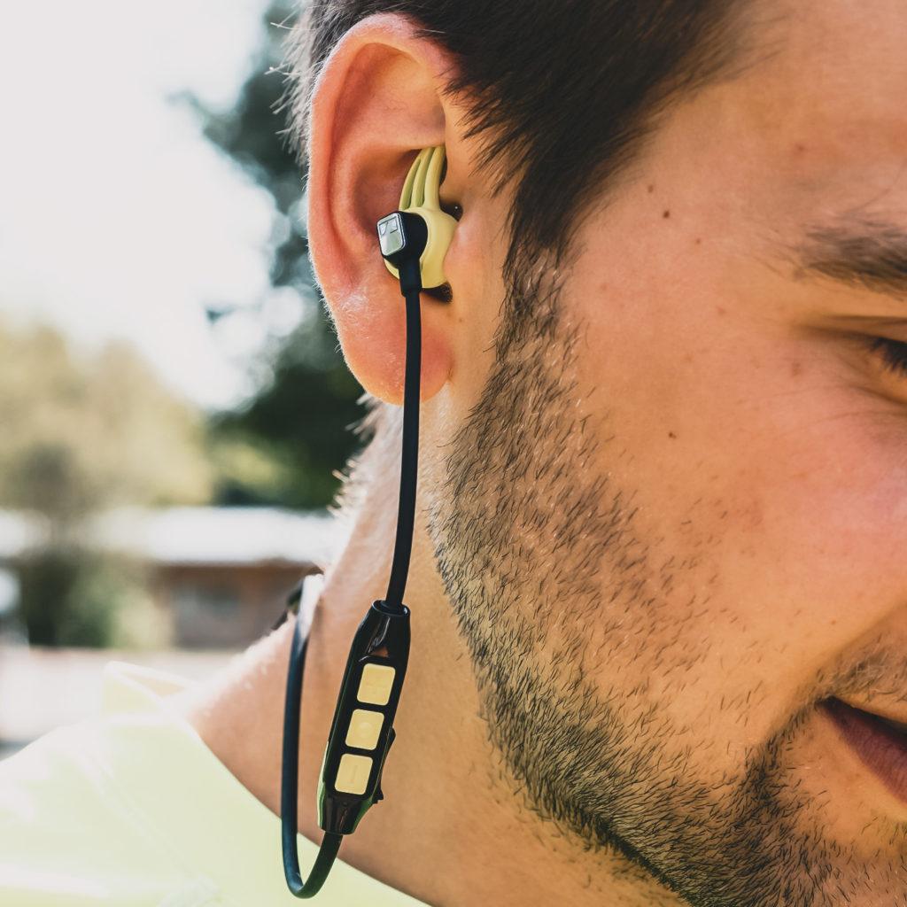 Sennheiser CX Sport, In-Ear Kopfhörer, Bluetooth Headphones, Laufen mit Musik, Podcasts Sport, Fitness, Laufen