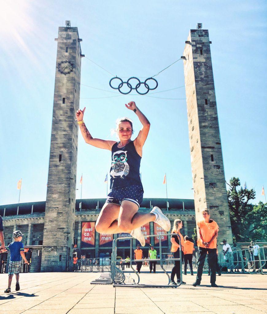 Olympiastadion Berlin, Leichtathletik Europameisterschaften 2018, Berlin 2018, Springen