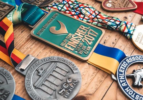 Medaillen, Marathon-Medaillen, Marathon laufen, Berlin Marathon, Boston Marathon, Tokyo Marathon