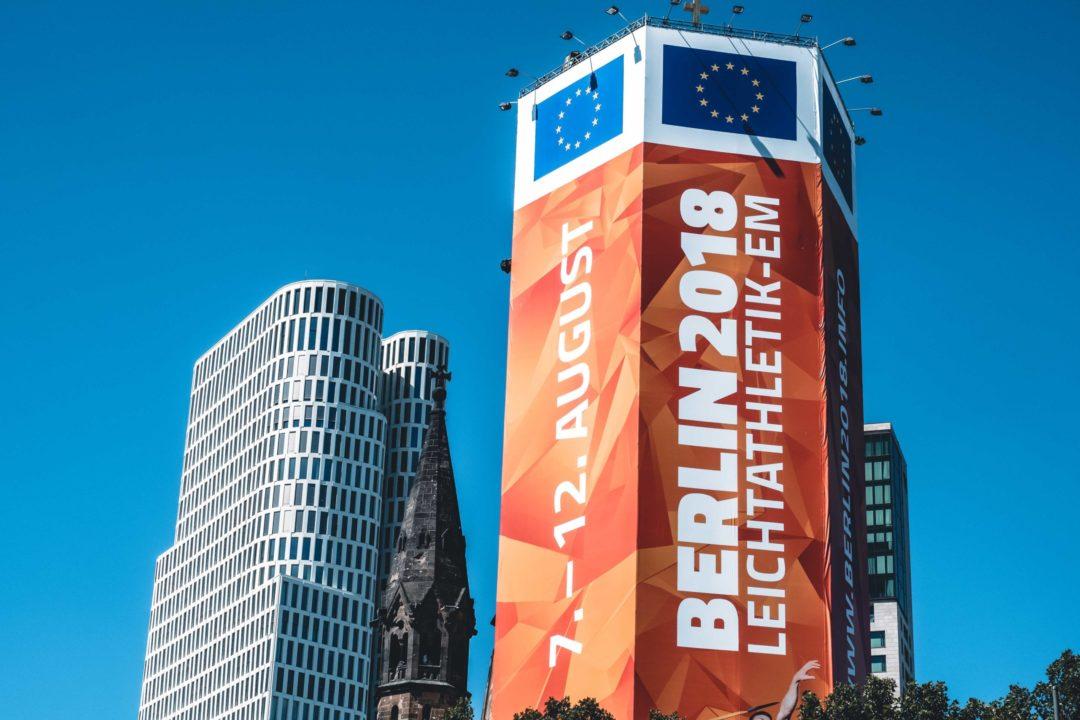Leichtathletik EM 2018 in Berlin, Europäische Meile am Breitscheidplatz