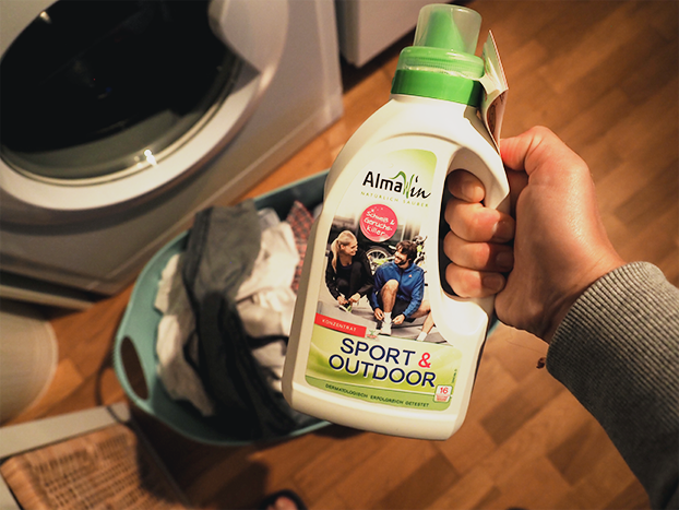 AlmaWin Sport & Outdoor Waschmittel, Laufkleidung pflegen