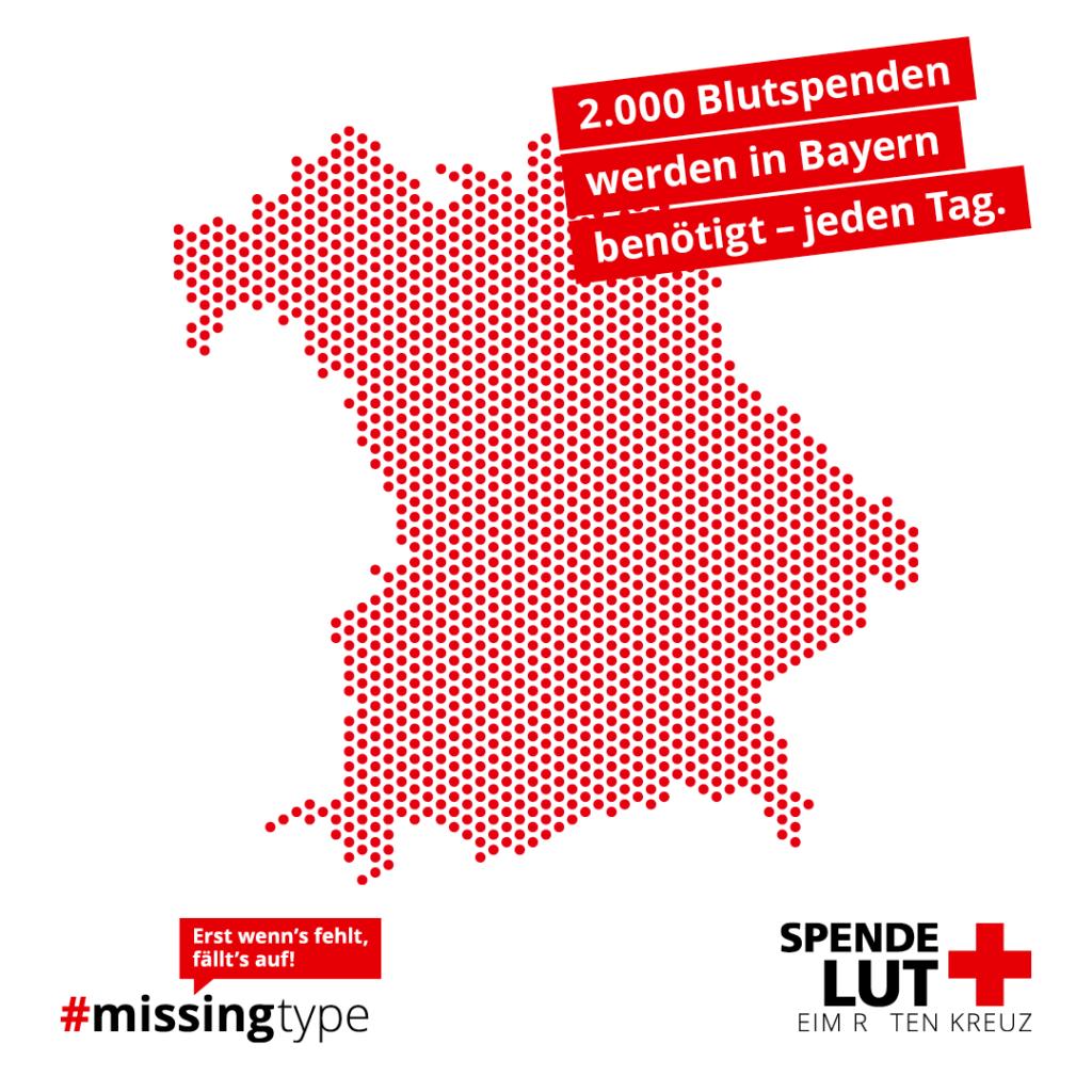 Grafik Blutspende Bayern