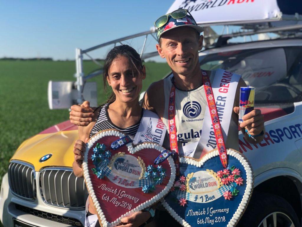Andreas Straßner gewinnt den WIngs For Life World Run in München 2018